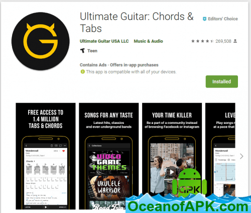 Ultimate Guitar Chords & Tabs
