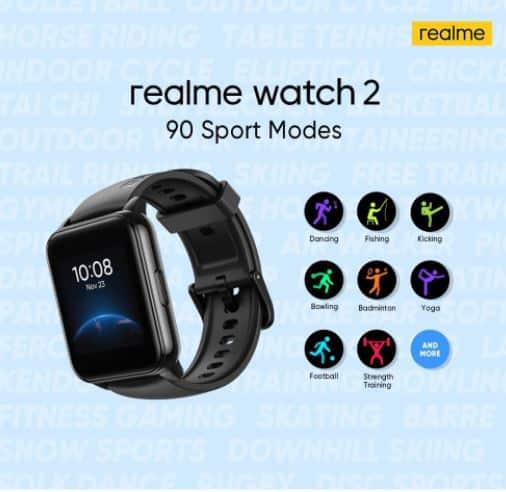 Realme's new smartwatch launched, will get more than 80 sports features