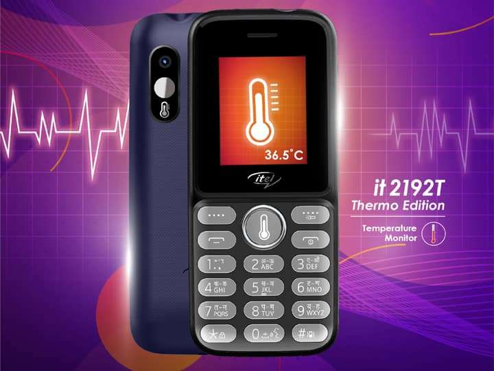 itel launches cheap feature phone, will not need thermometer to measure fever