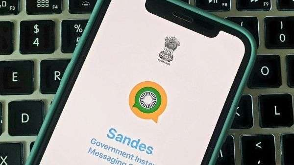 WhatsApp को टक्कर देने के लिए भारत सरकार ने लॉन्च किया Sandes App