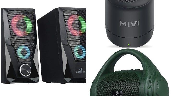 Best quality bluetooth speaker under 1000, great discount on speaker in online sale