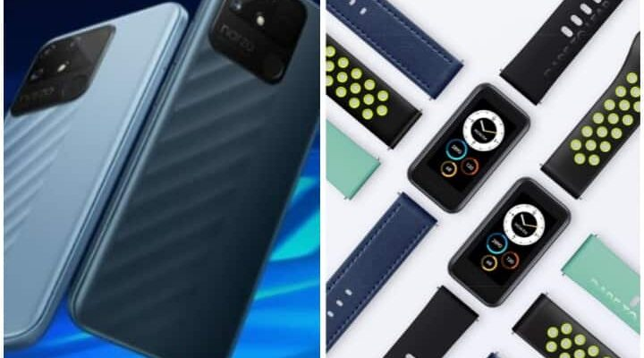 Realme launches fitness tracker band with cheap smartphone, know all the price and features