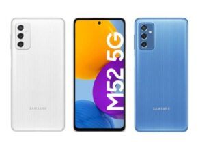 Samsung Galaxy M52 5G smartphone will be launched in India on this day, 5000mAh battery will be available