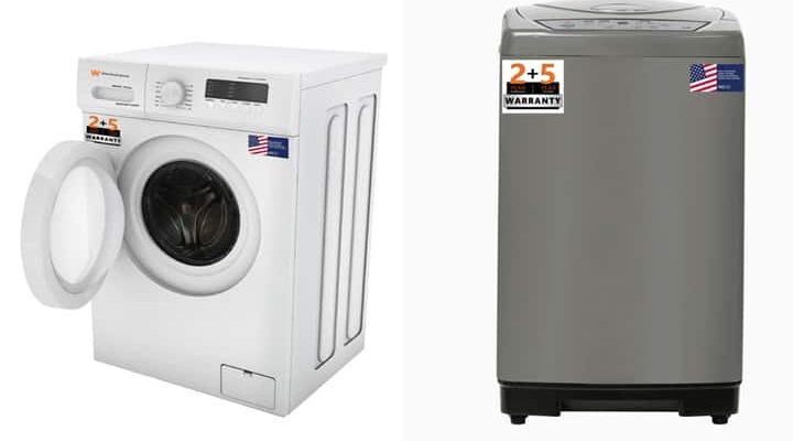 To compete with LG and Samsung, this company introduced a new top and front load washing machine