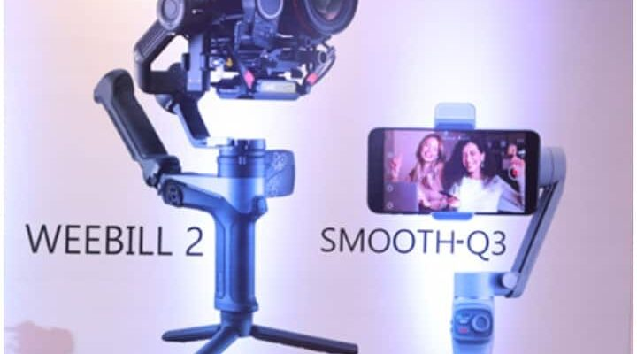 ZHIYUN has launched two new gimbals in India, these are very special for smartphones and DSLR cameras