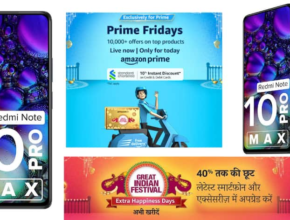 108MP camera and the price is less than 15 thousand!  Great offers on Redmi Note 10 Pro Max on Amazon