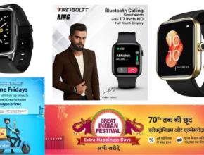 Best 5 Branded Fitness & Calling Watches in Amazon Sale Starting at Rs.1500 Only