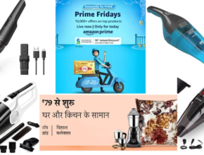 Best 5 cordless vacuum cleaners for home and car are available in Amazon sale for just Rs.