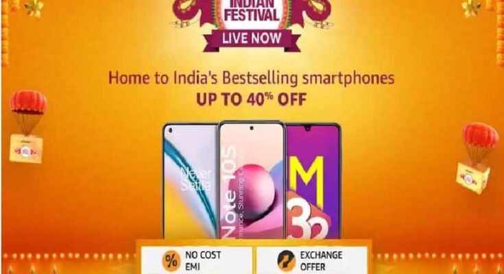 Know which are the 5 best selling smartphones on Amazon and what is their sale price