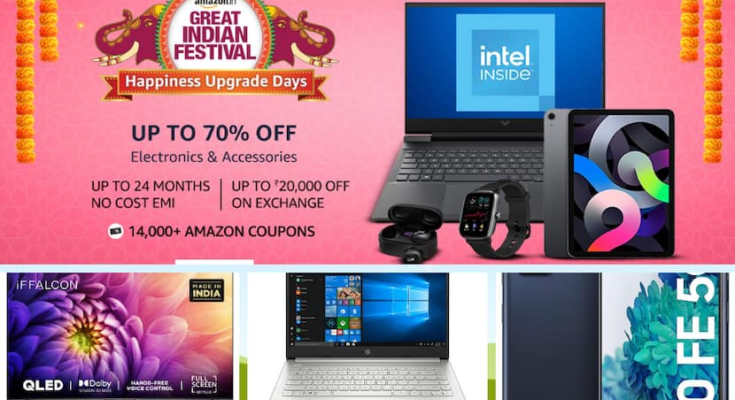 Take advantage of Amazon's sale, take home branded smart TVs, phones and laptops at half the cost